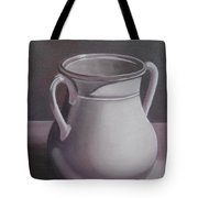 Burgundy Amphora Tote Bag