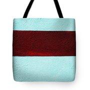 Burgundy Stripe Tote Bag by Marcia Lee Jones