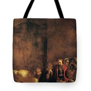 Burial Of St Lucy Tote Bag by Caravaggio