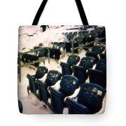 Buried Gillette Stadium Seats Tote Bag