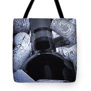 Buried Wine Bottle Tote Bag by Tom Mc Nemar