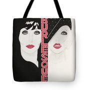 Burlesque Tote Bag