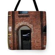Burlington North Carolina - Brick Entrance Tote Bag