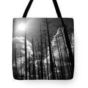 Burn Forest Tote Bag