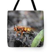 Burn Pile Bee Tote Bag