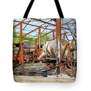 Burned But Not Forgotten Tote Bag