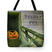 Burned Out - Halloween Tote Bag