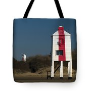 Burnham-on-sea Lighthouses Tote Bag