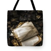 Burning Books Tote Bag