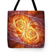 Burning Butterfly Tote Bag