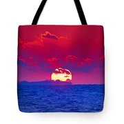 Burning Down The House Tote Bag