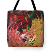 Burning Into The Darkness Tote Bag