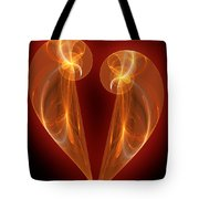 Burning Love Tote Bag