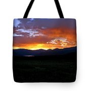 Burning Of Uncertainty Tote Bag