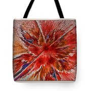 Burning Passion Of Love Tote Bag by Deborah Benoit