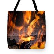 Burning Tote Bag