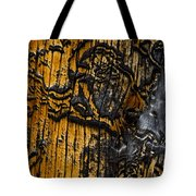 Burnt Beetle Maze  #9991 Tote Bag