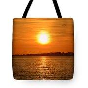 Burnt Orange Tote Bag