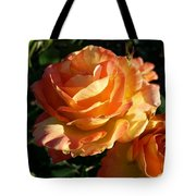 Burnt Rose Tote Bag