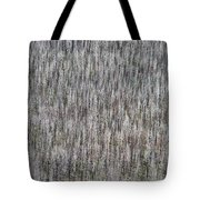 Burnt Trees Abstract II Tote Bag