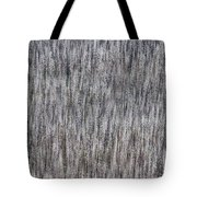 Burnt Trees Abstract Tote Bag