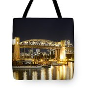 Burrard Bridge Vancouver Tote Bag