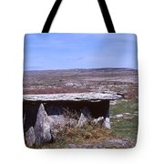 Burren Wedge Tomb Tote Bag