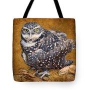 Burrowing Owl Portrait Tote Bag