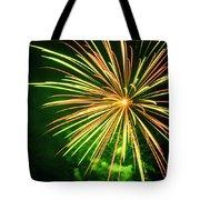 4th Of July Fireworks 6 Tote Bag by Howard Tenke
