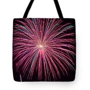 4th Of July Fireworks 24 Tote Bag