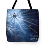 Burst Of Light Tote Bag