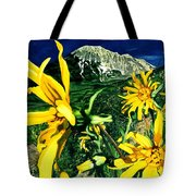 Burst Of Summer Tote Bag