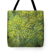 Bursting Dill Plant Tote Bag