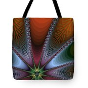 Bursting Star Nova Fractal Tote Bag