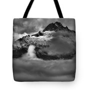 Bursting Thrugh The Clouds Tote Bag