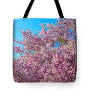 Bursting With Blossoms With A Hint Of Green Tote Bag