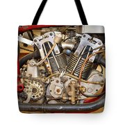 Burt Munro Special Indian Scout Engine Tote Bag
