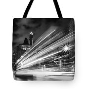 Bus Lights Tote Bag