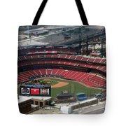 Busch Memorial Stadium Tote Bag