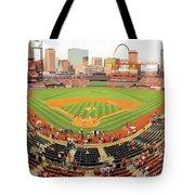 Busch Stadium Tote Bag