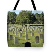 Bushnell National Cemetary Tote Bag