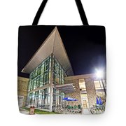 Business Building At Night Tote Bag
