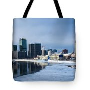 Business District Of Moscow Tote Bag
