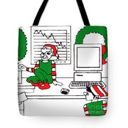Business Elves Tote Bag by Genevieve Esson