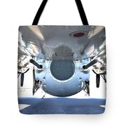 Business End Of A Ball Turret Tote Bag