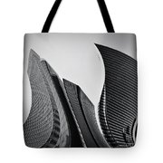 Business Skyscrapers Abstract Conceptual Architecture Tote Bag by Michal Bednarek
