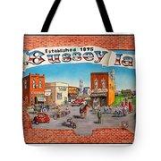 Bussey Mural Tote Bag