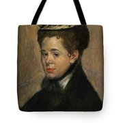 Bust Of A Woman Tote Bag