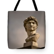 Bust Of Apollo Tote Bag