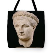 Bust Of Emperor Claudius Tote Bag